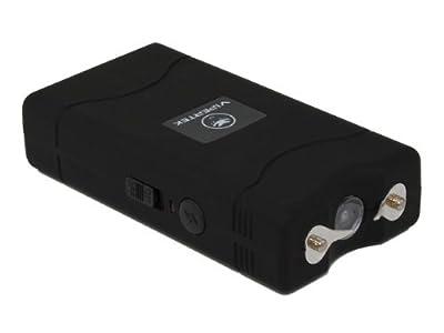 VIPERTEK VTS-880 - 25,000,000 V Mini Stun Gun - Rechargeable with LED Flashlight, Black from Vipertek