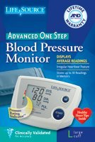 Cheap Digital Blood Pressure Monitor One Step,Large Cuff (UHS-AEUA767PVL)
