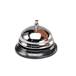 Nickel Plated Front Desk Bell