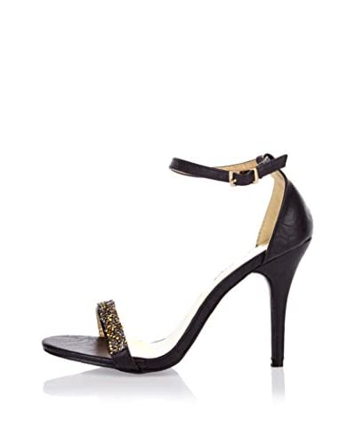 Like Style Sandalo Con Tacco [Nero]
