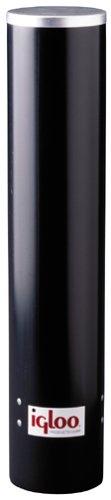 Igloo 8242 Black Plastic Cup Dispenser front-522886