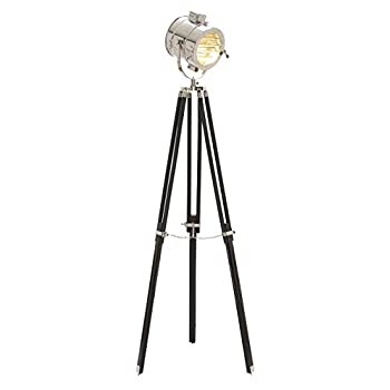 Deco 79 Unique Lamps Wood Metal Studio Light, 70-Inch