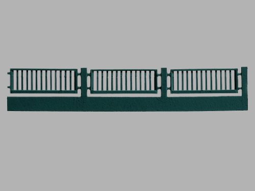 FACTORY FENCES - VOLLMER HO SCALE MODEL TRAIN BUILDINGS 5014