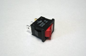 KIB SWOKLED1 Water Pump Switch with Red Light