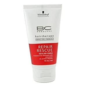 Schwarzkopf Bc Repair Rescue Sealed Ends Treatment ( For Damaged Ends ) 75Ml/2.5Oz