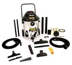 Buy Shop Vac 14 Stainless Steel Tank w/ dual accessories (Shop Vac Power Tools,Power & Hand Tools, Power Tools, Vacuums & Dust Collectors, Wet-Dry Vacuums)