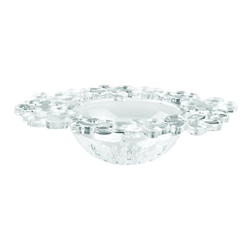 InterDesign Blumz Kitchen Sink Drain Strainer - Clear