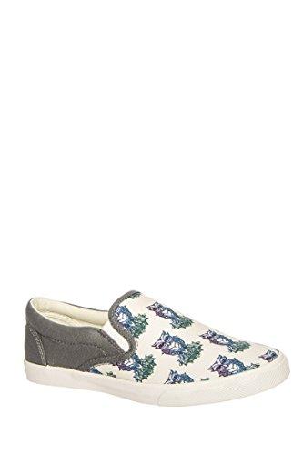Midnight Owl Slip-On Sneaker