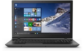 Toshiba Satellite C55 15.6-Inch Laptop (5th Gen Intel Core i5-5200U Processor,  8GB DDR3L RAM, 1TB HDD, Windows 10), Black