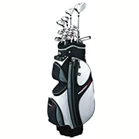 Prosimmon Golf X9 Mens GRAPHITE Hybrid Club Set & Bag