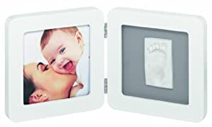 Baby Art Print Frame - Marco doble para fotos y huellas de mano o pie por Dorel