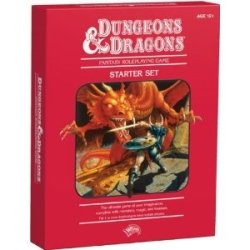 Dungeon & Dragons Fantasy Roleplaying Game Box Starter Set Red