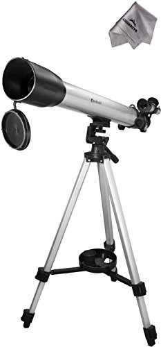 231 Power 70060 Starwatcher Telescope Ae11124 With Chanasya Polish Cloth Bundle