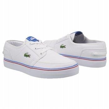 13c82912c LACOSTE US Haynt Mens Casual Boat Canvas Plaid Lace Up Sneaker Shoe Sz  Review