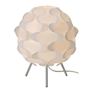 Table lamp, white