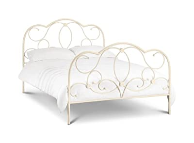 Julian Bowen Arabella Bed, Cream