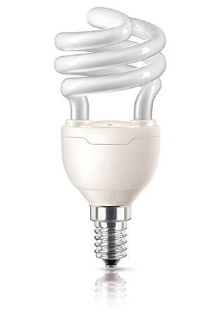 Philips - 929689134603 Ampoule Fluo-Compacte Spirale - Culot E14 - 12 Watts Consommés - Équivalence Incandescence : 58W