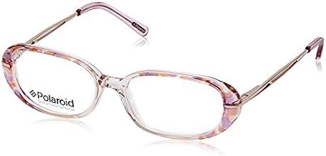 Polaroid Full Rim Eyewear Frame (Crystal and Pink ) (P5003C)