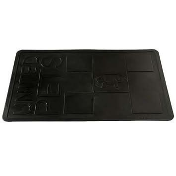 united pets mustaf tapis pour pour chien noir taille m animalerie o158. Black Bedroom Furniture Sets. Home Design Ideas
