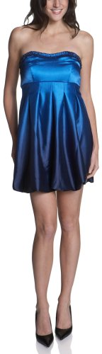 Ruby Rox Juniors' Ombre Satin Tube Dress
