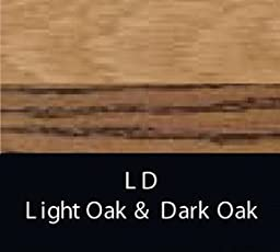 Concord Fans PB-2222-LD 52 Inch Blades Set, Light Oak/Dark Oak Finish with Light Oak/Dark Oak Blades