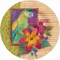 Jungle Paradise 7 Inch Paper Plates