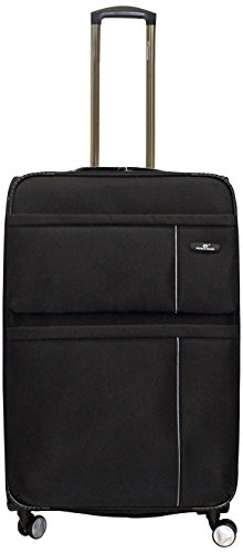 Princeware Princeware Cambridge Nylon 68 Cms Black Suitcase (6884)