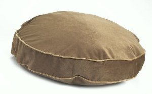 Bowsers Super Soft Round Dog Bed, Mocha, Small 28