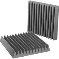 "Acoustic Foam Lg 12 Pack Room Kit - Wedge 2"" 24"" X 24"" Covers 48 Sq Ft - Soundproofing/Blocking/Absorbing Acoustical Foam - Made In The Usa!"