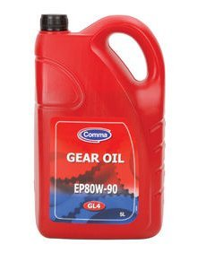 COMMA EP80W-90 GL-4 5 LITRE GEAR OIL