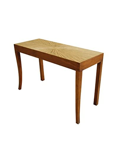 Jeffan Habitat Console Table Curved Leg, Natural