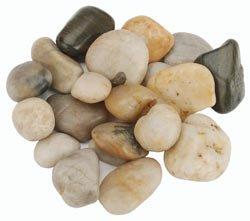Bulk Buy: Panacea River Rock Polished 32 Ounces/Pkg-Assorted Colors (3-Pack)