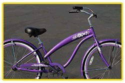Anti-Rust Aluminum frame, Fito Modena EX Alloy 1-speed - Purple, women's 26