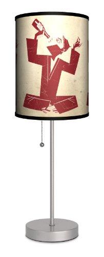 Lamp-In-A-Box SPS-DEC-DRINK D?cor Art - Drink Sport Silver Lamp
