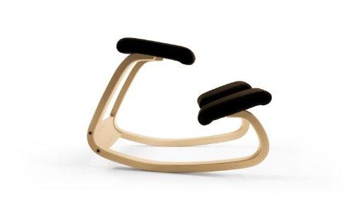 Variable Furniture Balans The Original Kneeling Chair, Onyx Black