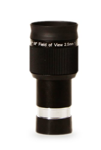 Olivon 58-Degree Field Of View Hd 1 1/4-Inch Eyepiece, Black, 2.5Mm