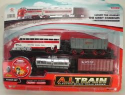 Diesel Toy Train Set Battery Operated With Track