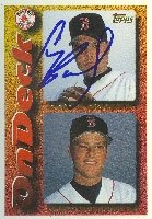 Cory Bailey Pawtucket Red Sox - Red Sox Affiliate 1995 Topps On Deck Autographed Hand... by Hall of Fame Memorabilia