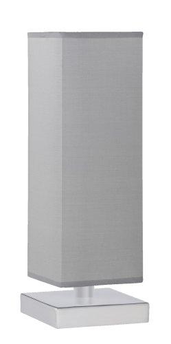 Trio-Leuchten-5914011-42-Tischleuchte-Touch-ME-1xE14-max-60W-Nickel-matt-Stoffschirm-grau