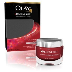 Olay Regenerist Micro-Sculpting Cream, 1.7 Ounce (Pack of 2)