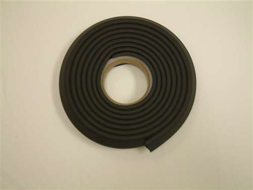 Kids Edge Cushion Padding 1X1 In. Black 100 Ft. W/Tape front-948000