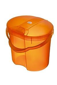 Rotho Babydesign Top Nappy Pail (Translucent Orange)