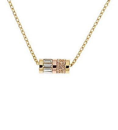 MICHAEL Michael KorsMichael Kors Goldtone Barrel Pendant Necklace MKJ1902