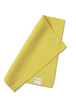 100% Microfiber Dish Cloth, Yellow Color