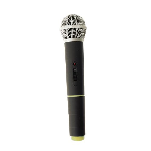 Califone Pa-10B-M Wireless Handheld Microphone For Pa10 Portable Pa System And Built-In Receiver, 210.250 Mhz