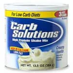 Carb Solutions High Protein Shake Mix, Creamy Vanilla (13.5 Ounces)