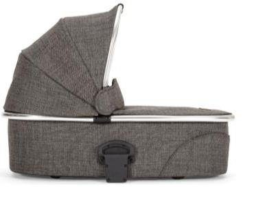 Mamas & Papas 2015 Urbo2 Carrycot Chrome - Chestnut Tweed - 1