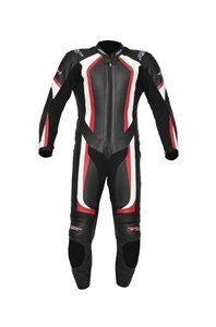 RST R-14 MOTORCYCLE MOTORBIKE LEATHER SUIT RACE TRACK ROAD ONE PIECE RED 40