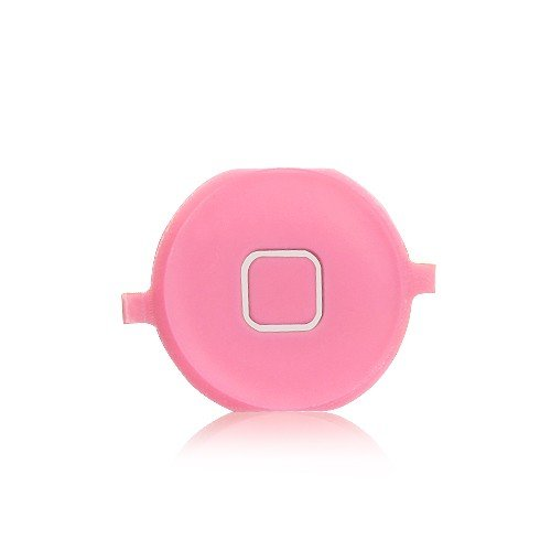 Home Button Key Replacement for iPhone 4S - Pink