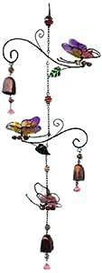 Continental Art Center CAC10231A Butterflies Wind Chime
